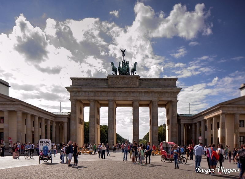 Pariser Platz, Berlin, Germany.