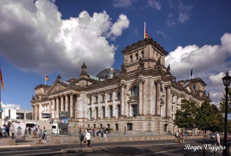 Bundestag, Berlin, Germany.