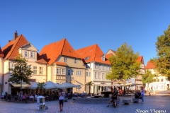 Pferdemarkt, Hamelin, Germany.