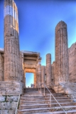 The Propylaea, Acropolis, Athens, Greece.