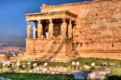 Erechtheion, The Acropolis, Athens. Greece