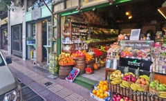 Grocery and greengrocery shops, Chatzichristou, Athens