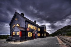 Railway station, Hjerkinn, Norway