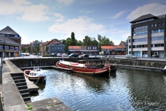 Ieper canal basin, West Quay
