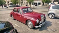 MG cars in Ieper