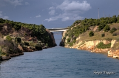 Corinth Canal, Isthmia, Greece