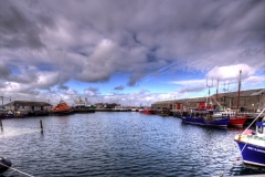 Kirkwall harbour.