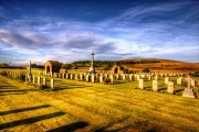 Lyness Royal Navy Cemetery.