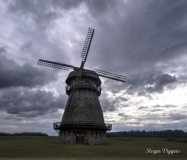 Windmill near Melliste, Estonia