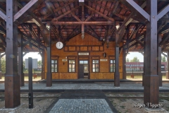 Narrow gauge railway station, Panevezys, Latvia
