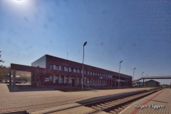Standard gauge railway station, Panevezys, Latvia