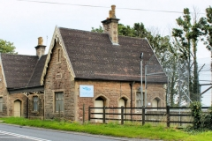 Station building, Axbridge, Somerset.