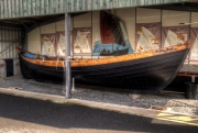 The Far Haaf is a replica of a fishing boat design brought to the Shetlands by the Vikings nearly a thousand years ago.