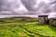 Abandoned house at Lund, Unst, Shetlands