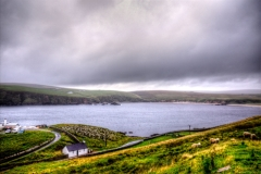 Burra Firth, Unst, Shetland Islands is at the norther tip of the UK..