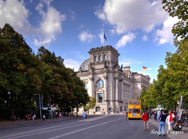 Bundestag, Berlin, Germany.