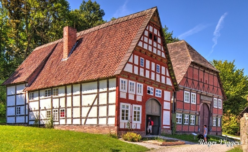 Blomberg town house and A60 - Holzminden town house