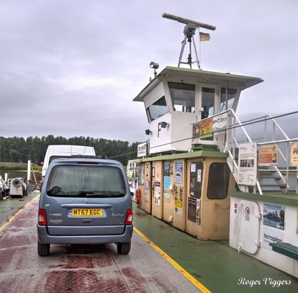 River Elbe Ferry, Havelberg, Germany