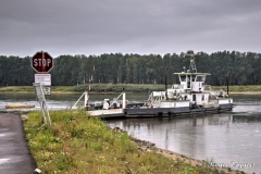 River Elbe Ferry, Havelberg, Germany