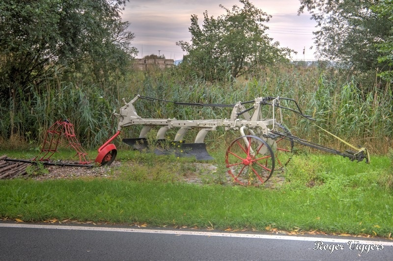 Cultivator in Kuhlhausen, Havelberg, Germany.