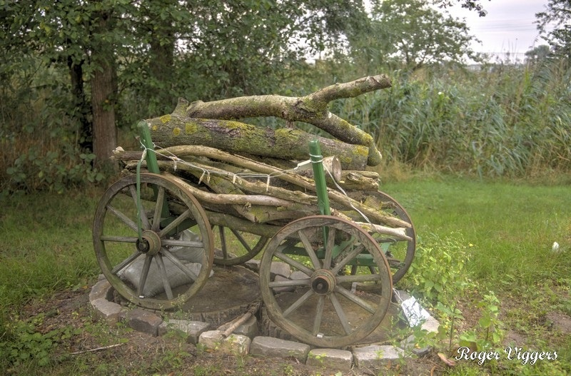 Log carrier in Kuhlhausen, Germany