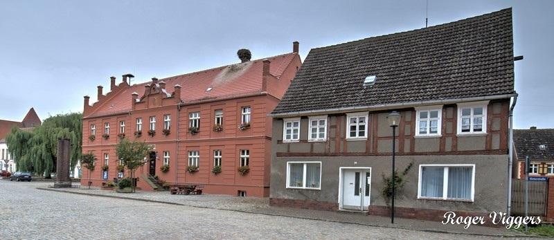 Marktplatz, Hansestadt Werben (Elbe), Germany