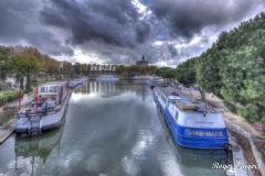 Aigues-Mortes canal basin