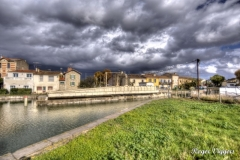 Railway swing bridge, Aigues-Mortes