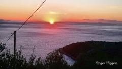 Sunrise over the Laconian Gulf.