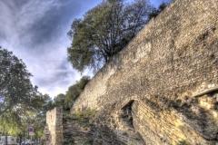 Arles town walls