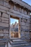 Access to the Propylaea, Acropolis, Athens, Greece.