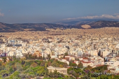 Modern Athens from the Acropolis, Greece