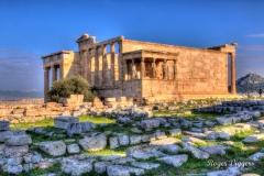 Erechtheion, The Acropolis, Athens. Greece