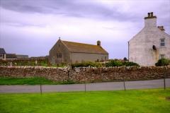 Birsay village, Orkney.