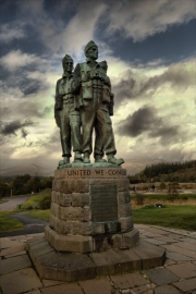 Commando Memorial, Spean Bridge, Inverness-shire, Scotland.