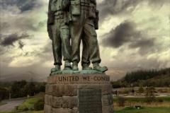 Commando Memorial, Spean Bridge, Inverness-shire, Scotland.