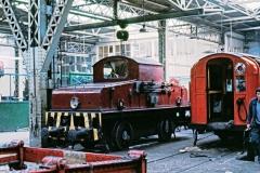 Battery loco