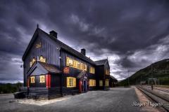 Railway station, Hjerkinn, Norway