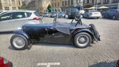 MG cars in Ieper