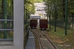Funicular railway, Kaunas, Lithuania