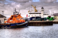 Kirkwall harbour.