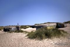 WW2 German defence bunkers, Klitmøller, Denmark