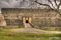 Castell de Bellaguarda near Le Perthus
