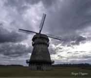 Windmill near Melliste, Estonia