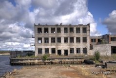 Abandoned industrial complex