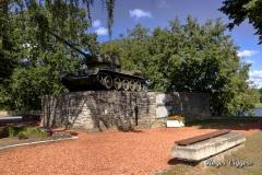 Soviet T34 war memorial