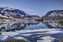 Lake Stavatn, Vinje, Telemark, Norway