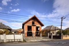 House contruction, Oncesti, Romania