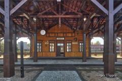 Narrow gauge railway station, Panevezys, Latvia