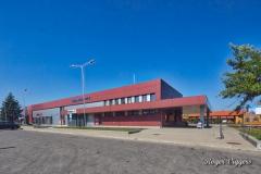 Standard gauge railway station, Panevezys, Latvia